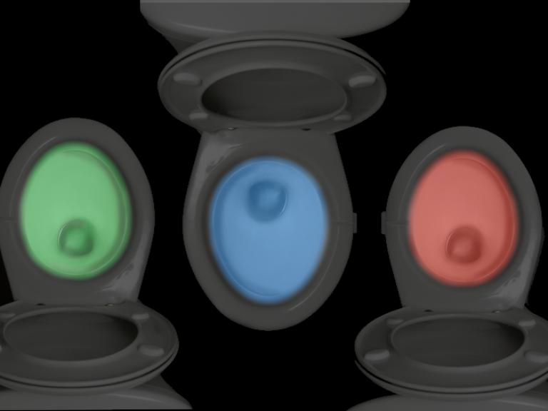 Illumibowl: Disco LED-ljus för din toalettstol - Allt Om LED